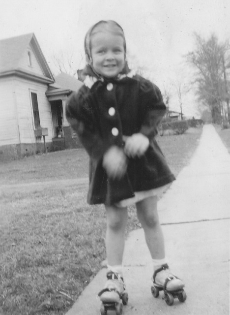 Mama, when she was little (early 1940's)