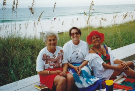 My late Grandmother Norma and Aunt Pat with Mama